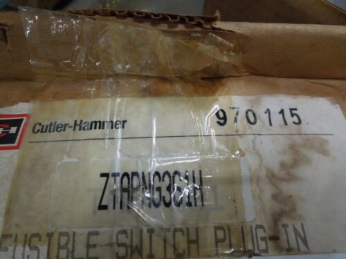 Cutler-hammer/westinghouse Ztapng361h 30a 3ph 4w W/ground Busway Fusible Switch
