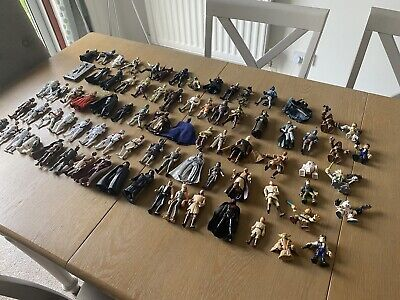 Large Job Lot Bundle of Star Wars Figures 80 x figures