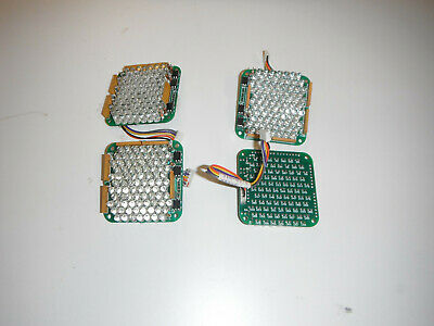 Lot Of 4 Red Led Light Arrays Arduino 5467