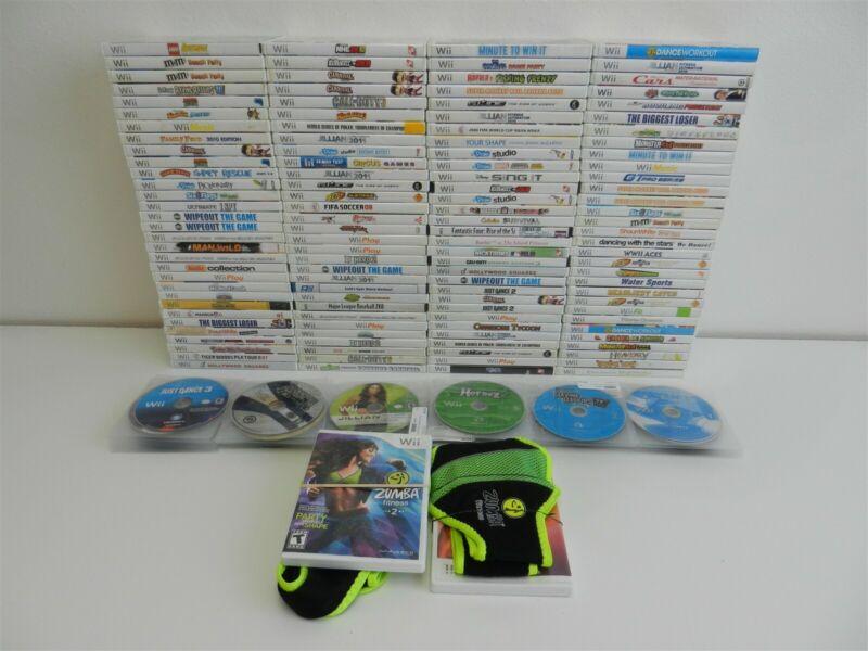 Lot of 213 Nintendo Wii Games - Call of Duty: Modern Warfare 3, Lego Batman