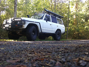 1990 Toyota LandCruiser Wagon 60 series Chain Valley Bay Wyong Area Preview