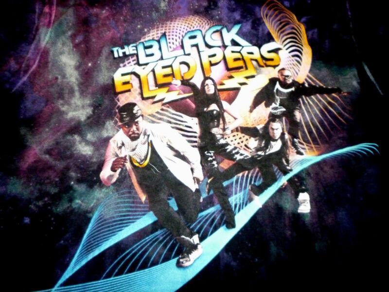 Black Eyed Peas Tour Shirt ( Used Size M ) Nice Condition!!!
