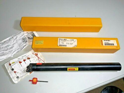 "Sandvik Coromant R166.4KF-D20-3 Threading Boring Bar 14"" long 1.25"" dia NOS"