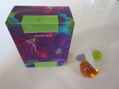 Miniature de Parfum Narcisse de Chloé 3,7 ml . Neuve + boîte.