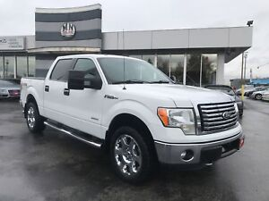 2012 Ford F-150 ECOBOOST 4WD LEATHER SUNROOF