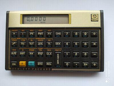 HP Hewlett Packard 12C Taschenrechner / Finanzrechner