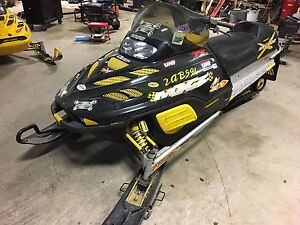 2001 Skidoo MXZ 500 complete part out
