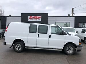 2017 Gmc Savana 2500 CHROME.CRUISE, PARTITION INCLUDED