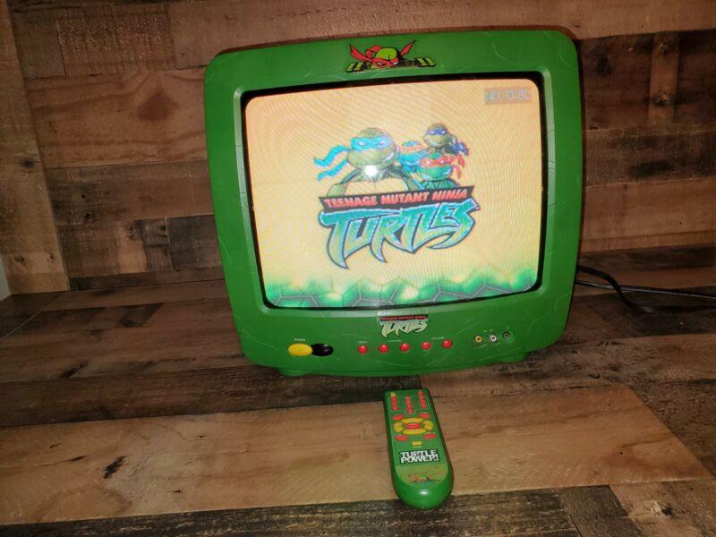 """Vintage Teenage Mutant Ninja Turtles 13"""" Retro Gaming TV. Tested and Working"""