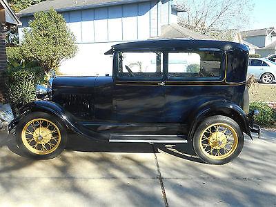 1929 ford model a 2 door sedan certified pre owned ford for 1929 model a 2 door sedan