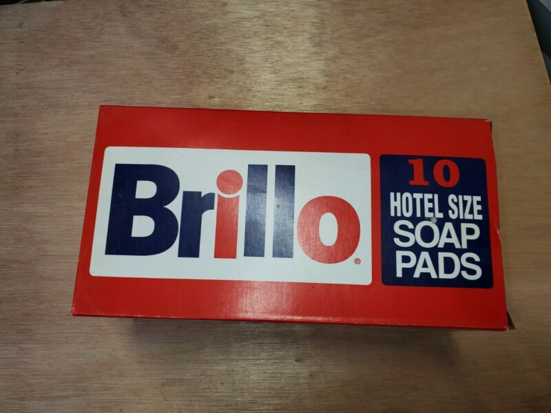 Brillo Hotel Size Steel Wool Soap Pad, 10/box
