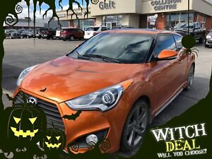 2013 Hyundai Veloster TURBO | SUNROOF NAV HEATED SEATS
