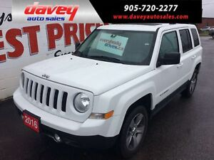 2017 Jeep Patriot Sport/North 4X4, POWER SUNROOF, HEATED LEAT...