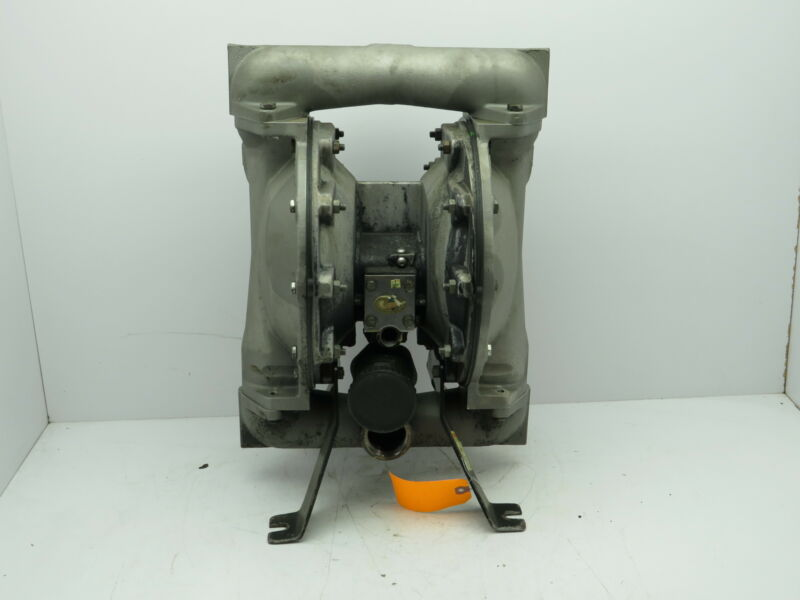 """Ingersoll Rand Stainless Steel Air Pneumatic Diaphragm Pump 1-1/2""""NPT Tested"""
