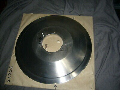 Commercial Meat Slicer Blade Knife Globe 11-58 Dia Fair Condition.