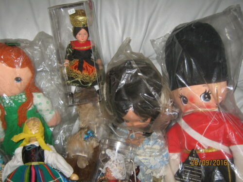 Set of 20 + Dolls of the World / International Dolls (Many Sizes)