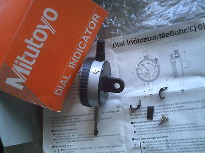Mitutoyo 2046fe Dial Caliper Gauge Metric 0.01mm