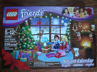 Lego Friends Advent Calendar  41040    New     Retired   2014