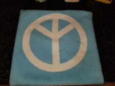 Pottery Barn Teen Quot Heart Peace Symbol Aqua White Quot 18