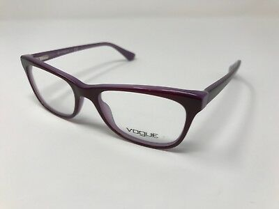 Authentic Vogue Eyeglasses VO2763 2015 Dark Violet Frames 51-17-135 Flex DQ78