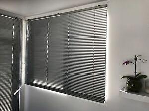 Starlite slimline venetian blinds. Silver finish. various sizes West Hobart Hobart City Preview