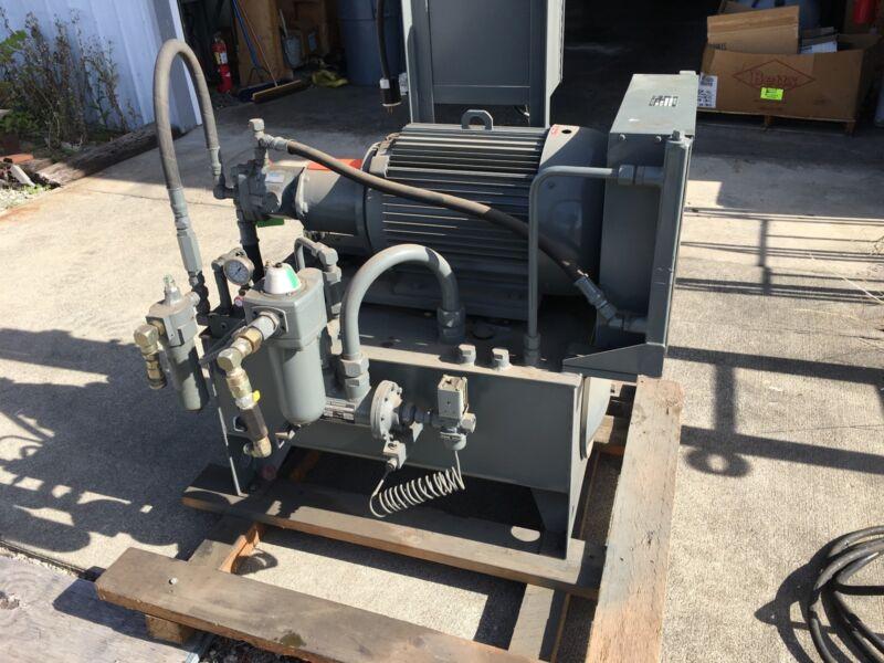 PABCO FLUID POWER HYDRAULIC POWER PACK UNIT 25HP 230/460V 3PH
