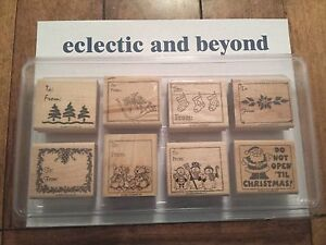 Stampin Up Rubber Stamp Sets