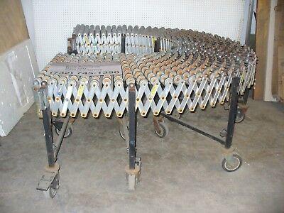 Bestflex Model 200 Expandableportable Skatewheel Conveyor 24 X 24 On Castors