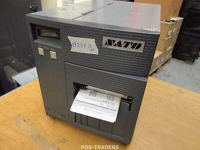 """SATO CL408E Parallel Thermo Label Drucker REWINDER 203dpi 4.1"""" 104mm - 17255.8 M"""
