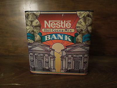 Vintage Nestle Hot Cocoa Mix Bank
