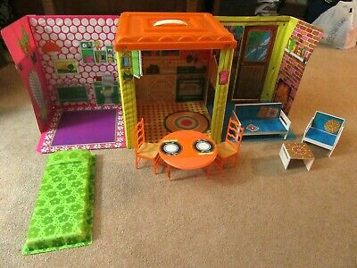 Vintage 1973 Barbie Country Living Home Doll House, Original Furniture, Complete
