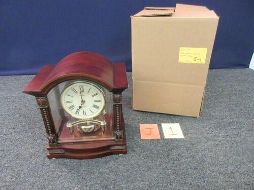 Bulova Rhapsody Chimes Mantel Shelf Westminster Pendulum Clock Quartz B1987