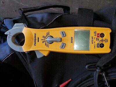 Fieldpiece Sc260 Compact Clamp Meter