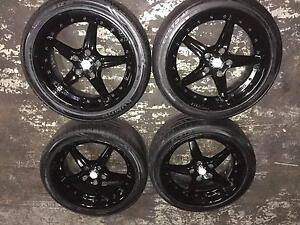 HOLDEN COMMODORE XHP 18 INCH WHEELS AND TYRES VT VX VU VY VZ Kingswood Penrith Area Preview