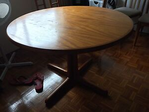 Dining Table with 6 chairs Meadowbank Ryde Area Preview
