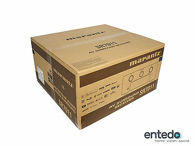 Marantz SR7011 9.2 Heimkino AV-Receiver Verstärker HDCP 2.2 Atmos Schwarz NEU