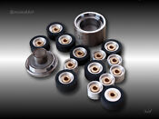 1 pair of NEW PINCH ROLLER ASSEMBLY for Pioneer RT-909 901 price to 11.11.