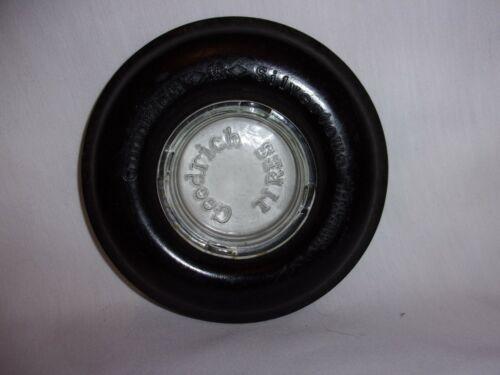 RARE Vintage B.F. Goodrich Silvertown Tire Ashtray SKID RING TRACTOR  TYPE