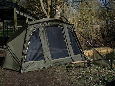 Saber Brolly System Fishing Tent Umbrella Tent Oval Bivy Capsule Umbrella Tent