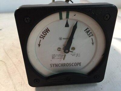 Westinghouse Synchroscope Type K1241
