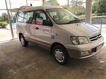 Toyota Townace AWD with Electric Wheel Chair Lift - As New