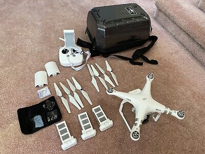 DJI Phantom 3 Advanced with Backpack Action and Extra Batteries