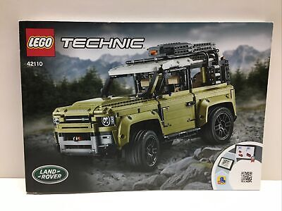 LEGO 42110 Technic Land Rover Defender MANUAL INSTRUCTION ONLY NEW NO BRICKS
