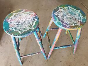 Wooden bar stools Rutherford Maitland Area Preview