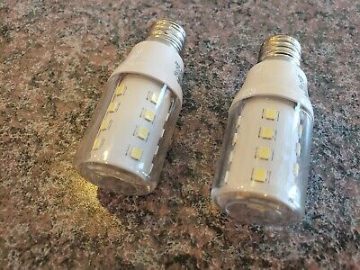 TWO Frigidaire Kenmore Freezer Refrigerator Part 5304498578 LED Light Bulb (OEM)