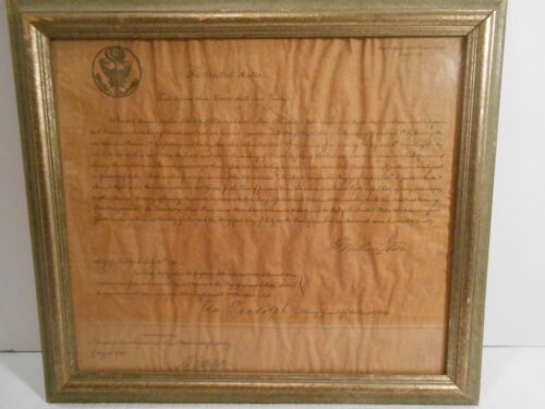First US Patent Copy 1790 signed by President George Washington