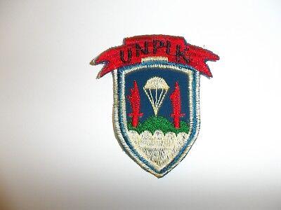 e1477 Korea US Army UNPIK UN Partisan Infantry 8240th  R21A1