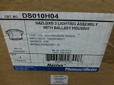 Thomas-betts Hazlux Ds010h04 Lighting-wethazardousexplosion Proof Locations