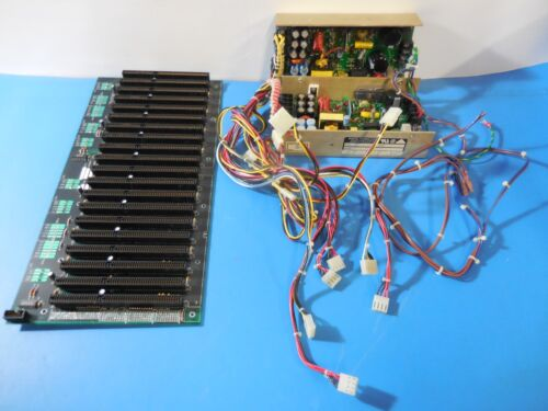 (2)-Digital Power Corp Power Supplies Mated to a Qualogy 20 ISA Slot Backplane