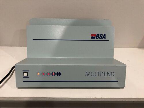 BSA MultiBind Thermal Book Binder 400-page Book Binding Machine